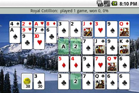 Patience Revisited Solitaire screenshot 2