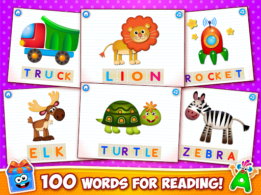 Baby ABC in box Kids alphabet games for toddlers screenshot 13