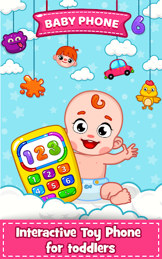 Baby Phone for toddlers screenshot 1
