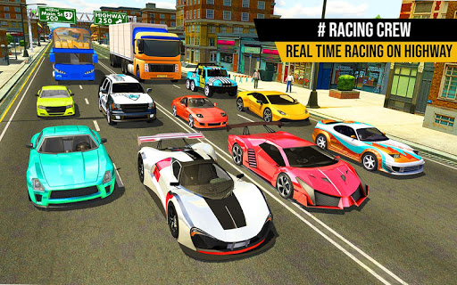 Racing in Highway Car 2018 screenshot 12