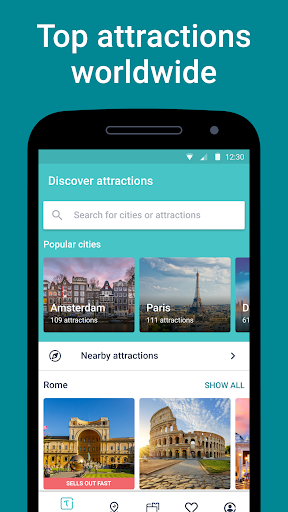 Tiqets - Museums & Attractions screenshot 1