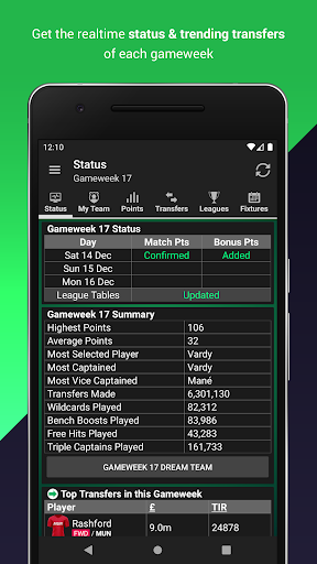 (FPL) Fantasy Football Manager for Premier League screenshot 9