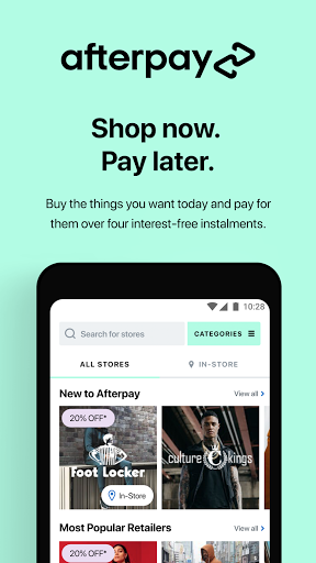 Afterpay Shopping: Simple interest-free payments screenshot 1