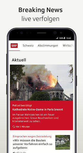 SRF News - Nachrichten, Videos und Livestreams screenshot 2
