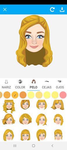 Avatarly: crear avatar emoji para Wastickerapps screenshot 3
