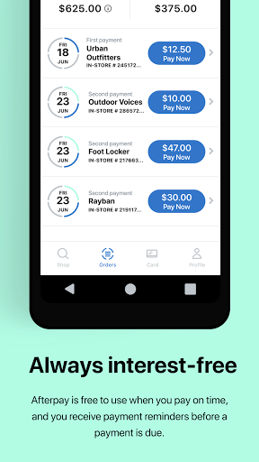 Afterpay: Buy now, pay later. Easy online shopping screenshot 4
