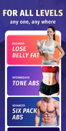 Lose Belly Fat at Home screenshot 1