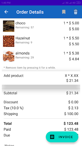 Store Manager: sales record & inventory management screenshot 1