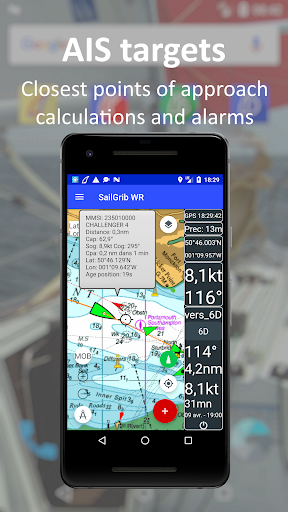 SailGrib Weather Routing Free screenshot 8
