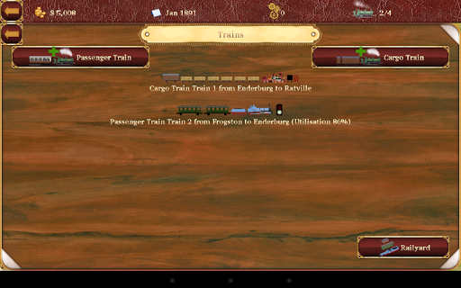 Railroad Manager 3 screenshot 11