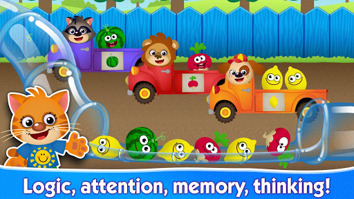 Funny Food! Educational games for kids 3 years old screenshot 2