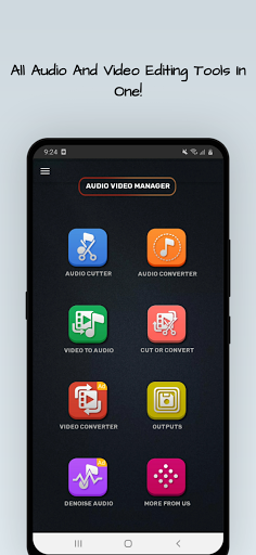 MP4, MP3 Video Audio Cutter, Trimmer & Converter screenshot 2