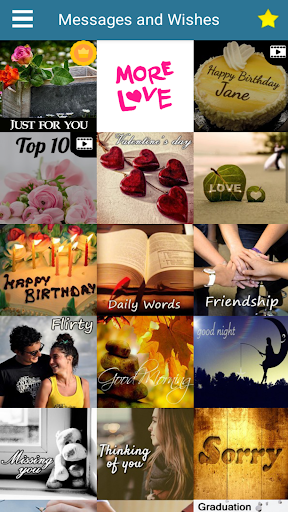 Messages Wishes SMS Collection screenshot 1