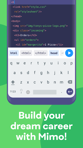 Mimo: Learn coding in JavaScript, Python and HTML screenshot 6