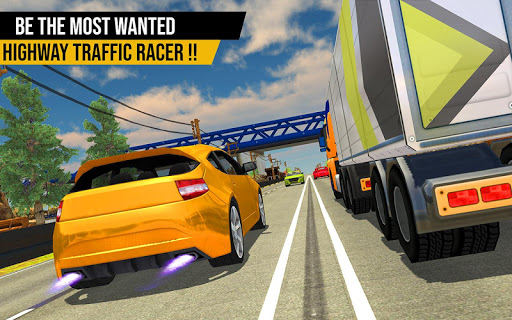 Racing in Highway Car 2018 screenshot 13