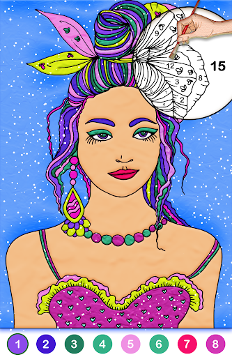 Color by number free screenshot 3