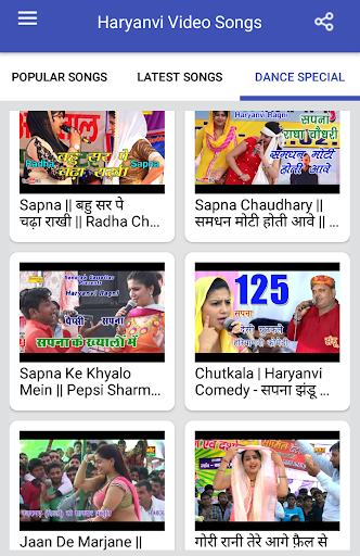 Haryanvi Songs : Haryanvi Video Songs screenshot 14