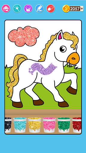 Coloring & Play with Animals for Kids screenshot 1