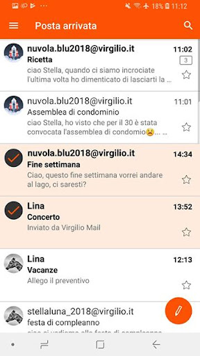 Virgilio Mail screenshot 5