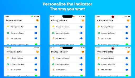 Privacy Indicator screenshot 6