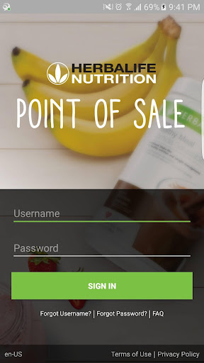 Herbalife Nutrition Point of Sale screenshot 1