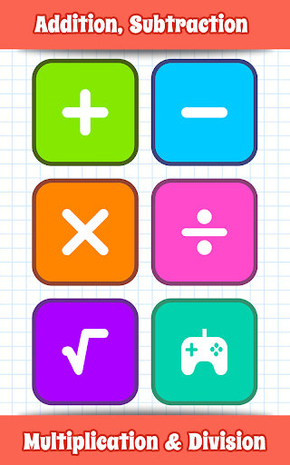 Math Games, Learn Add, Subtract, Multiply & Divide screenshot 2