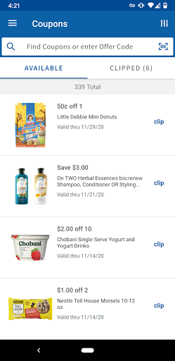 Meijer screenshot 6