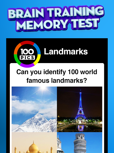 100 PICS Quiz screenshot 5