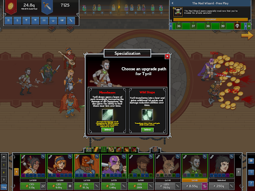 Idle Champions of the Forgotten Realms screenshot 3