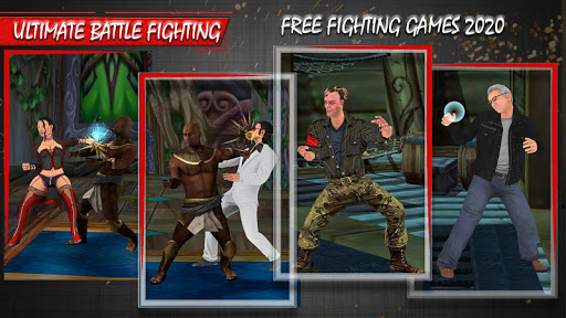 Ultimate battle fighting games 2021 屏幕截图 1