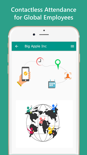 Employee Time & Attendance tracking App. Try Free. screenshot 1