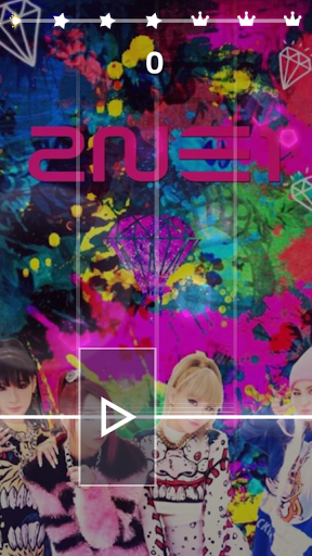2 NE 1 Magic Tiles 3-KPOP Music Tiles screenshot 1