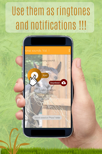 Horses Sounds for Cell Phone free. screenshot 3