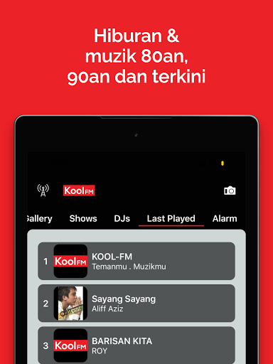 Kool FM screenshot 7
