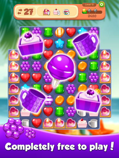 Candy N Cookie : Match3 Puzzle screenshot 21