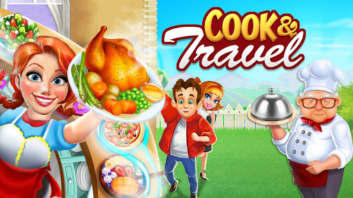 Cook n Travel: Cooking Games Craze Madness of Food screenshot 1