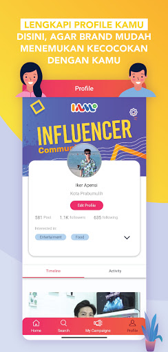 IAM INFLUENCER screenshot 4
