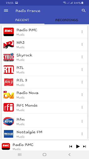 Radio France FM En Ligne screenshot 2