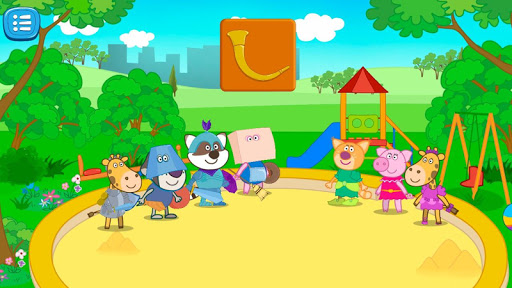 Games about knights for kids screenshot 1