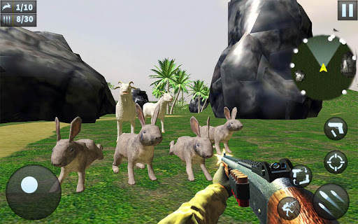 Rabbit Hunting Challenge - Sniper Shooting Games screenshot 2