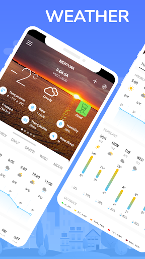 The weather timeline & weather screenshot 1