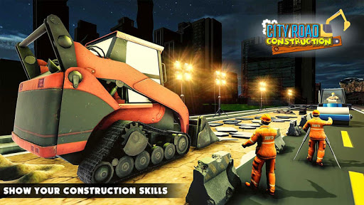 Mega City Road Construction Machine Operator Game screenshot 17