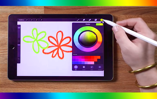 Free Procreat Paint Editor Android Tips screenshot 2