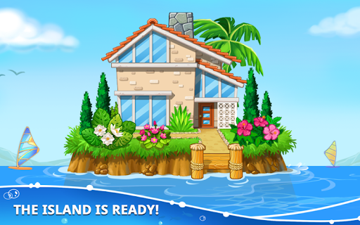 Game Island. Kids Games for Boys. Build House screenshot 5