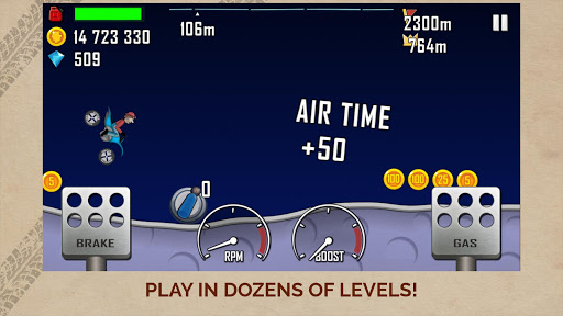 Hill Climb Racing screenshot 4