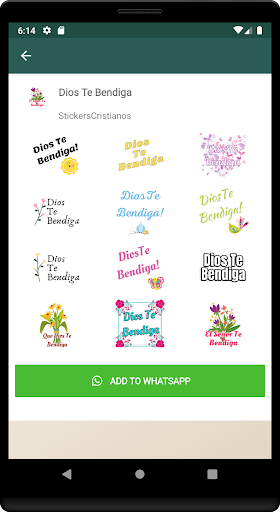 Stickers Cristianos screenshot 5
