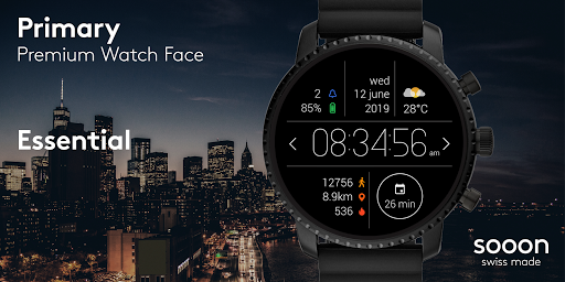 Primary Watch Face screenshot 1
