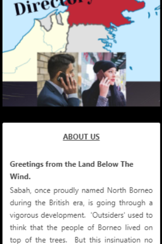 Sabah Business Directory screenshot 1