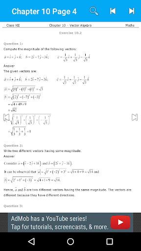 Maths 12th Solutions for NCERT screenshot 4