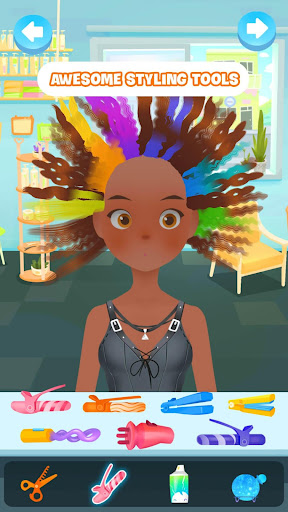 Hair salon games screenshot 2